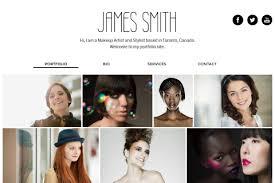 makeup artist templates build