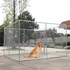 10 X 10 Ft Large Playpen Outdoor Backyard Dog Cage Kennel Fence Waterproof Cloth For Sale Online Ebay