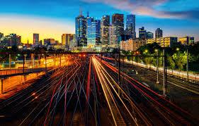 city lights australia melbourne