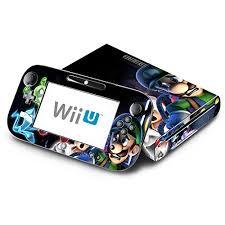 Super Mario Luigi S Mansion Decorative Decal Cover Skin For Nintendo Wii U Console And Gamepad Webbily