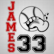 Baseball Wall Decals Baseball Wall Decor Vinyl Silhouette With Name Stickers Ebay