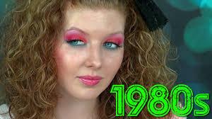 1980s makeup tutorial
