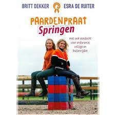 Paardenpraat TV Springen Britt en Esra