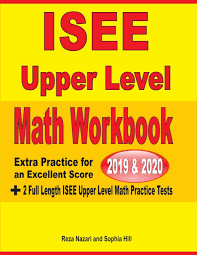 Buy ISEE Upper Level Math Workbook 2019 & 2020: Extra Practice for ...