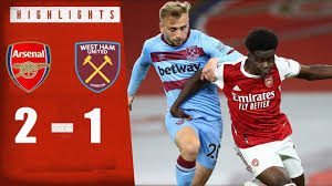 Arsenal 2-1 West Ham United |All Golas | Extended Highlights |Hd