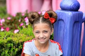 minnie mouse buns disney hairstyles
