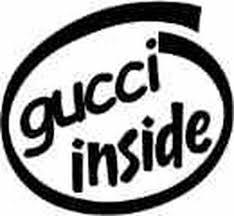 Gucci Inside Vinyl Decal