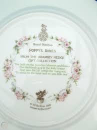royal doulton brambly hedge plate poppy