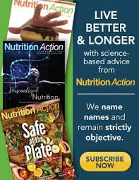 nutrition action unbiased advice to