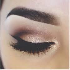 bridesmaid makeup gold smokey eye
