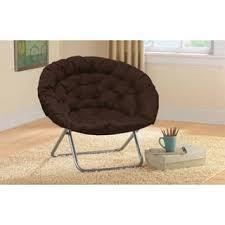 Shop Oversized Saucer Chair Overstock 17166404 Blue