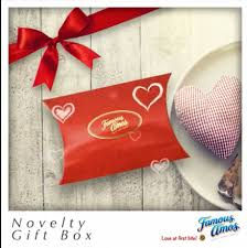 famous amos novelty gift box rm3 only