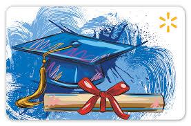 graduation walmart gift card walmart