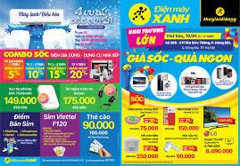 Khai trương siêu thị Điện máy XANH 205 Tôn Đức Thắng, Đống Đa, Hà ...