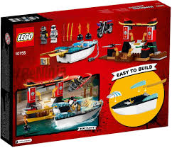 LEGO 10755 NINJAGO Juniors Zane's Ninja Boat Pursuit | Building Set –  Bright Bricks