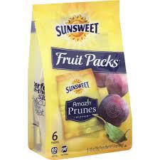 sunsweet amaz n fruit packs prunes
