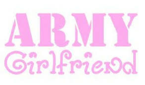 Us Army Girlfriend Car Or Laptop Decal 4 X 6 5 Inches Lots Of Color Choices Decor Decals Stickers Vinyl Art Home Garden