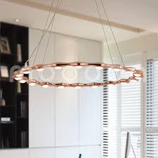 round ring aluminium pendant lamp