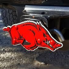 University Of Arkansas Car Accessories Hitch Covers Arkansas Razorbacks Auto Decals Secstore Com