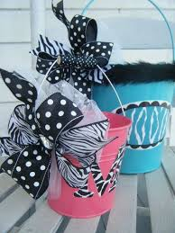 Pin by Hillary Dean on RIBBON & BOWS | Personalized easter bucket, Easter  crafts, Crafts