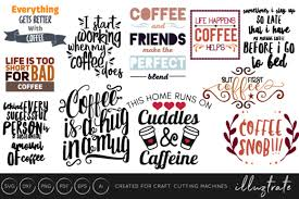 coffee quotes bundle graphic by illuztrate · creative fabrica