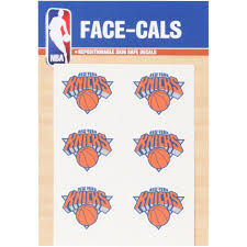 New York Knicks 3x 5 Mini Decal Set