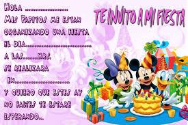 Invitaciones De Minnie Mouse Para Imprimir Gratis Imagui