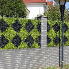 Artificial Boxwood Hedge Privacy Plastic Fence Panels 10x10 Inches Uv Proof Diy Plants For Decoration Garden Balcony Decoration Buy At The Price Of 8 99 In Aliexpress Com Imall Com