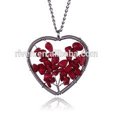 hot stone jewelry ruby red natural
