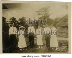 From right to left Adam Flurry, Irene Moore, Luther Wilkinson ...