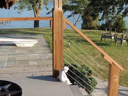 Stainless Steel Cable Railing Systems Modern Deck Portland By Stainless Cable Railing Inc