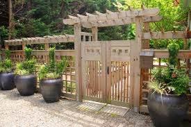 Wooden Fence Designs Hgtv