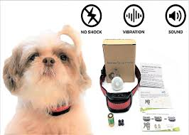 Anti Bark Collar For Small Dogs Anti Barking Device For Small And Medium Sized Dogs Stop Barking With Vibratio Wireless Dog Fence Dog Training Tools Dog Fence