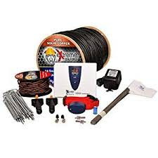 Extreme Dog Fence Ultimate Underground Electric Dog Fence 1 Dog 500 Of 14 Gauge Boundary Wire Pro Grade D I Y Pet Containment System Kit Powered By Perime Dog Fence Dog Supplies Online Pet Safety