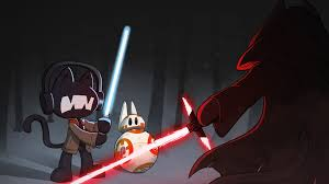 star wars animated ilration