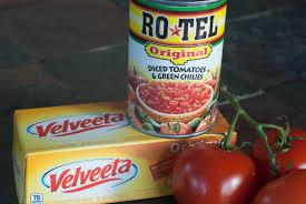 rotel and velveeta queso dip tgif