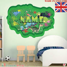 Little Boy Bedroom Wall Stickers Childrens Transfers Amazon Decal Art Baby Toddler Vamosrayos