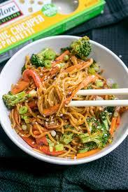 easy garlic sesame noodles 10 minute