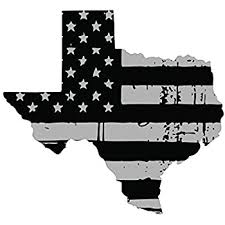 Amazon Com Evan Decals Tattered Usa Flag Black Gray Window Decal Vinyl Sticker State Of Texas 6 Automotive