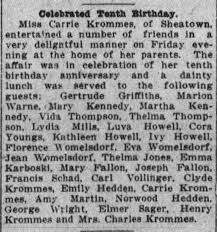 Kathleen Howell attends birthday - Newspapers.com