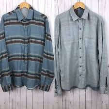 faherty mens blue striped reversible