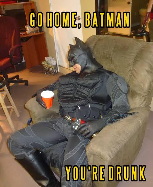 "Resultado de imagem para batman bebado"""
