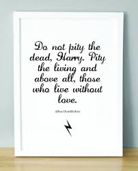 quotes about death harry potter quotes