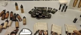 makeup that works for black skin look