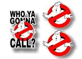 3 Ghostbusters Decals Set Comics Art Vinyl Bumper Slimer 3 Wall Decal Stickers Ebay