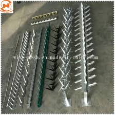 China Hot Dipped Galvanizded Protection Wall Spike Garden Fence China Garden Fence Wall Spike Fence