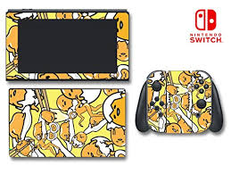 Gudetama Cute Lazy Depressed Egg Hello Kitty Video Game Vinyl Decal Skin Sticker Cover For Nintendo Switch Console System Wantitall