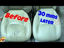 4 ways to repair leather car seats