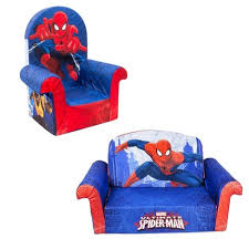 Marshmallow Furniture Comfy Foam Toddler 2 In 1 Couch Chair Kids Furniture Package For Ages 2 Years Old And Up Marvel Spider Man Target
