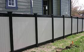Black Vinyl Fence Los Angeles Ca Installation Privacy Ornamental Horse Fencing Ranch Railing